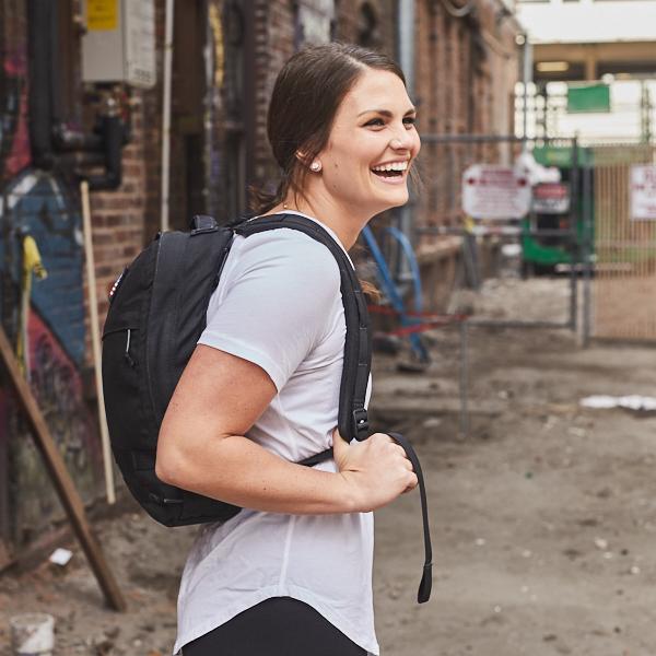 EDC bag on girl