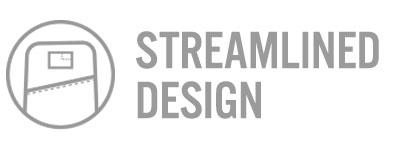 Bullet Ruck Streamlined Design