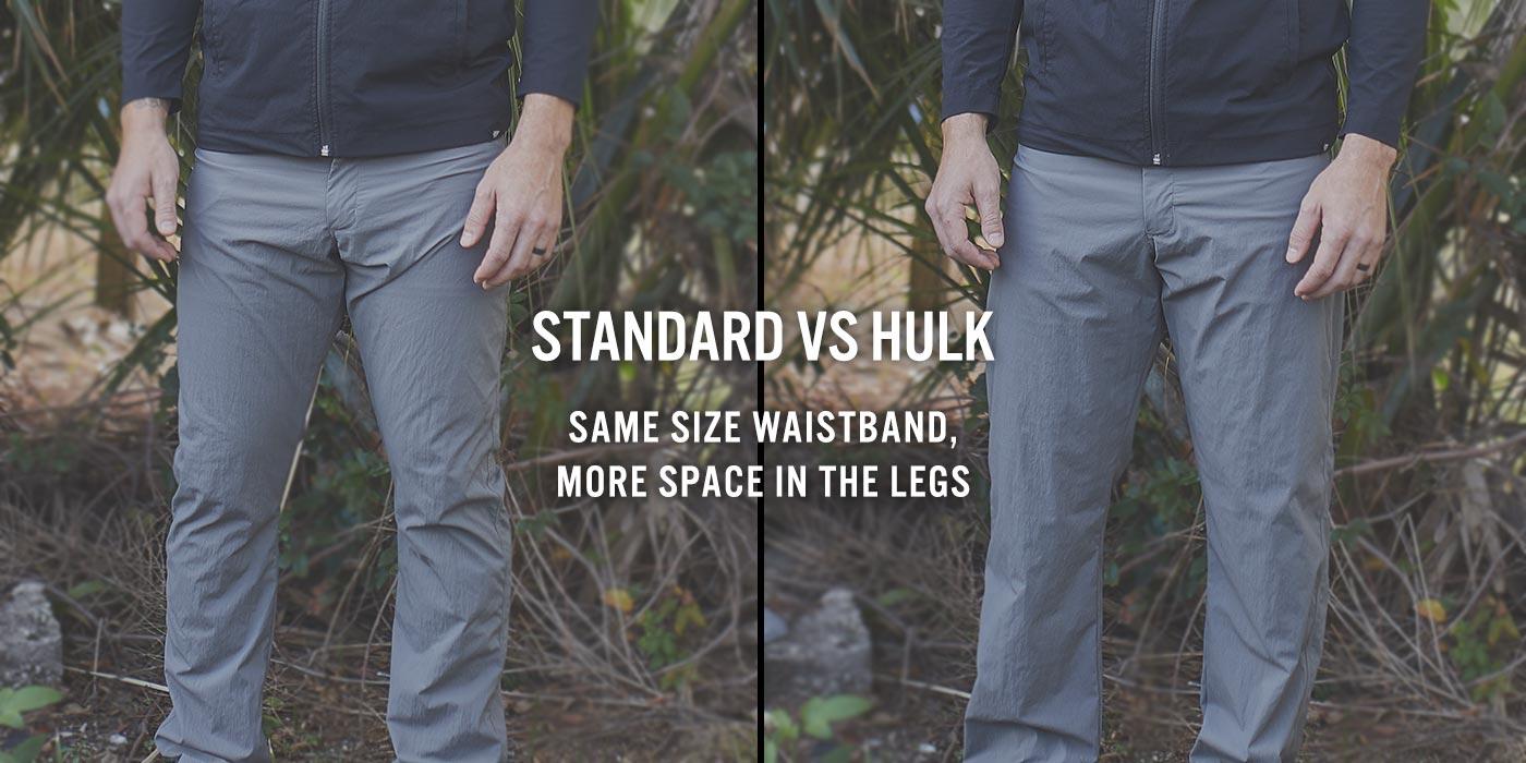 Standard vs Hulk