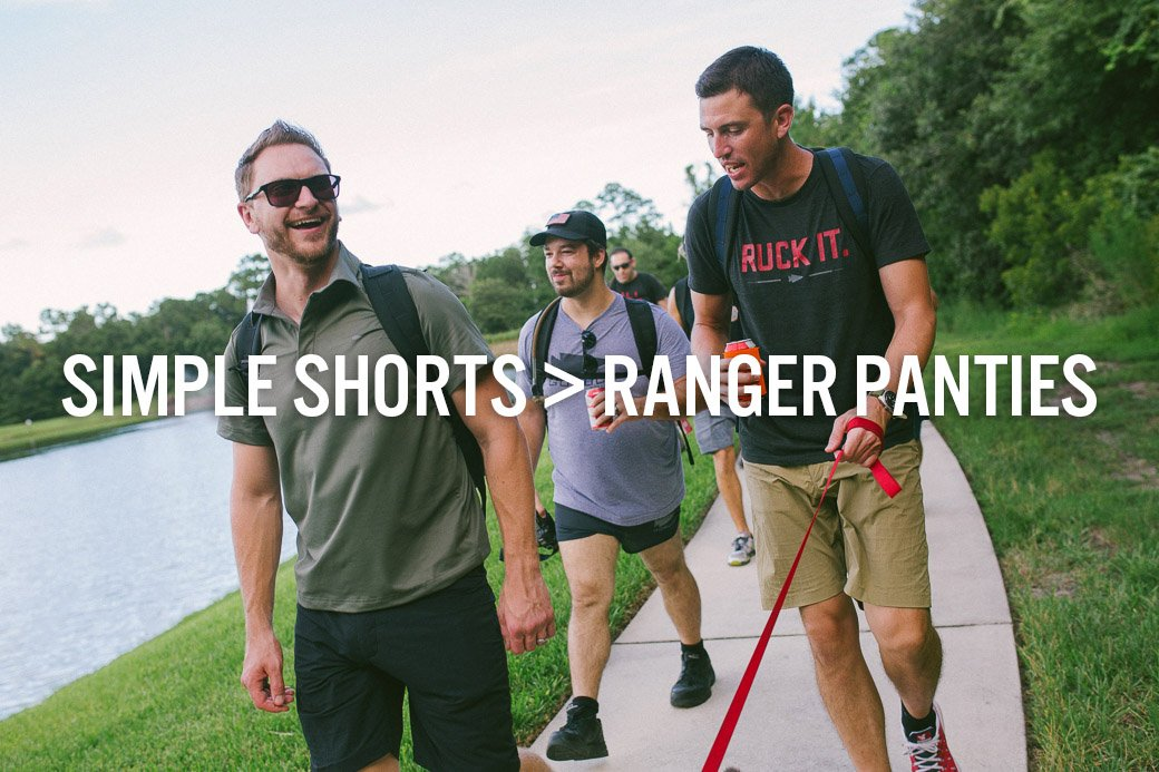 Simple Shorts Better Than Ranger Panties