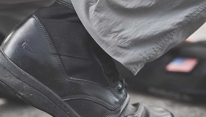 jungle boots ankle support