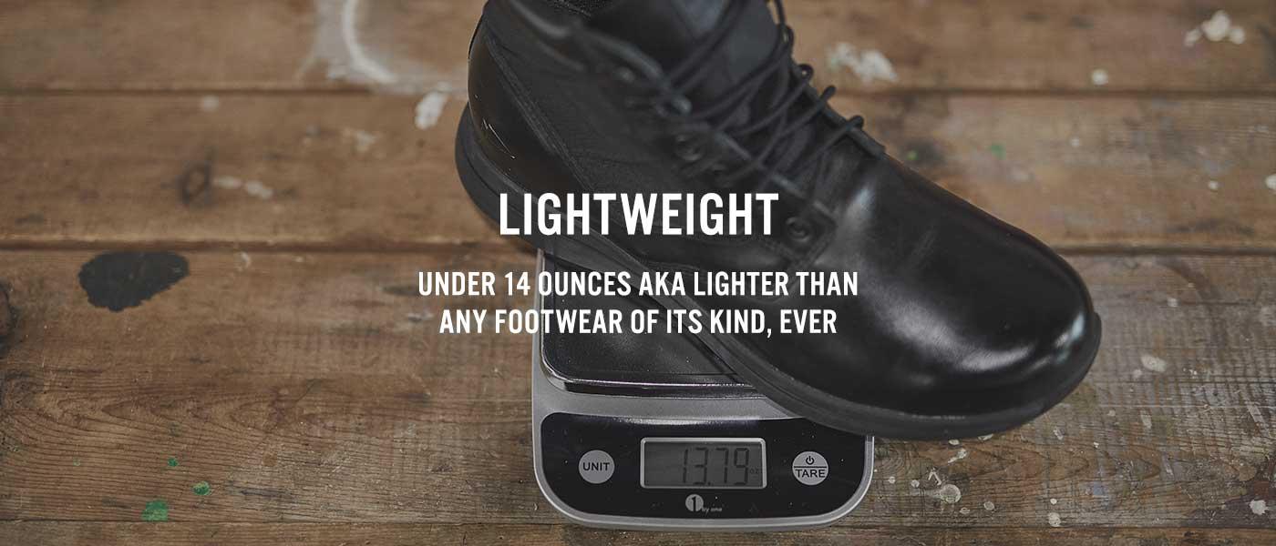 lightweight jungle rucking boot