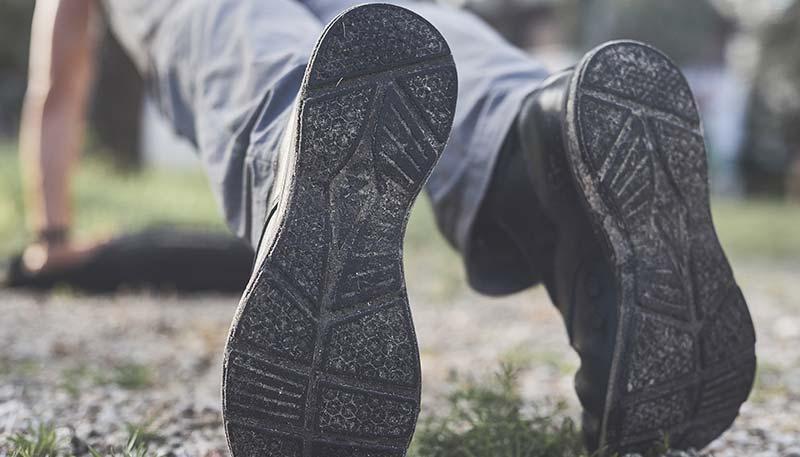 jungle boots rubber outsole