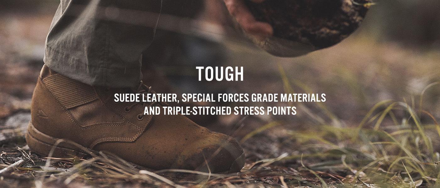 jungle boot military grade materials