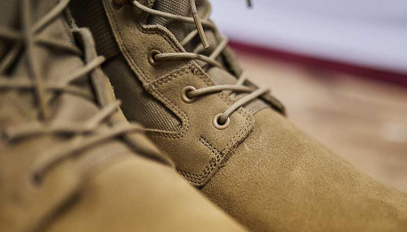jungle boots speed laces