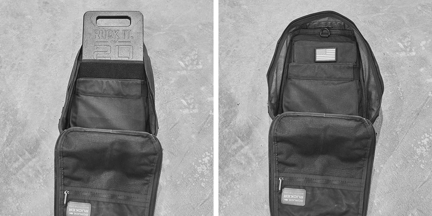 Rucker 20LB Ruck Plate Compatibility