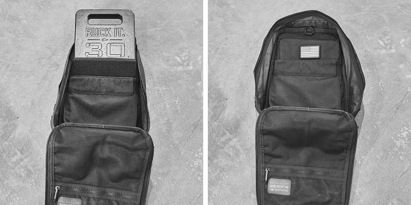 Rucker 30LB Ruck Plate Compatibility
