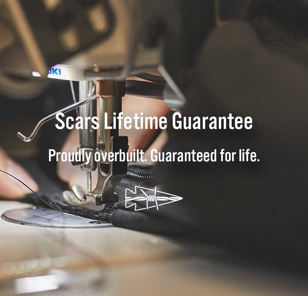 rucksack scars lifetime guarantee